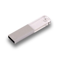 Накопитель под нанесение Present G143 512MB Silver White