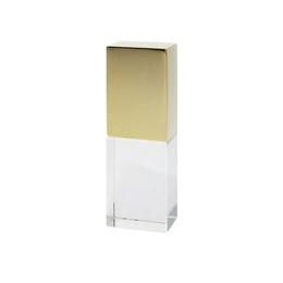 Накопитель под нанесение Present G160 8 GB Green LED Gold Cap
