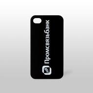 Чехол под нанесение Present Glossy Black (для iPhone 5/5S)