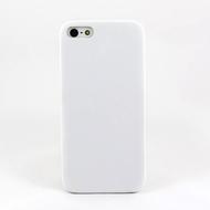 Чехол под нанесение Present Leather White (для iPhone 5/5S)