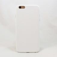 Чехол под нанесение Present Leather White (для iPhone 6 Plus)