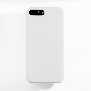 Чехол под нанесение Present Leather White (для iPhone 7 Plus)