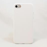Чехол под нанесение Present Leather White (для iPhone 7)