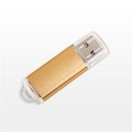 Накопитель под нанесение Present M100 2 Гб Gold
