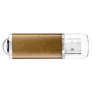 Накопитель под нанесение Present M100 4Гб Gold