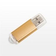 Накопитель под нанесение Present M100 512MB Gold