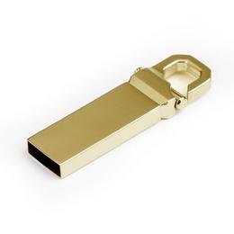 Накопитель под нанесение Present M34 2 Гб Gold Glossy
