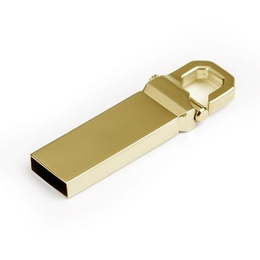 Накопитель под нанесение Present M34 8 GB Gold Glossy
