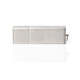 Накопитель под нанесение Present M35 16 gb Silver Glossy