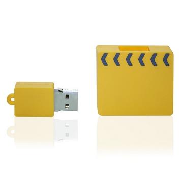 Накопитель под нанесение Present ORIG208 4Гб Yellow