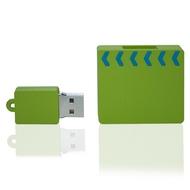 Накопитель под нанесение Present ORIG208 8 GB Green