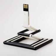 Накопитель под нанесение Present P103 8 GB White Black