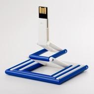Накопитель под нанесение Present P103 8 GB White Blue