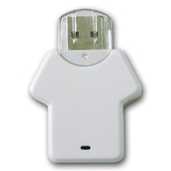 Накопитель под нанесение Present P104 16 gb White