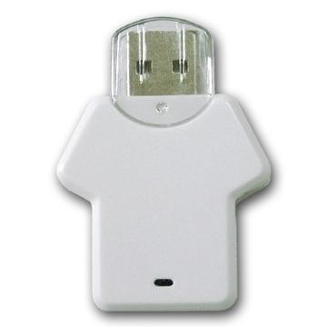 Накопитель под нанесение Present P104 32gb White
