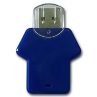 Накопитель под нанесение Present P104 4Гб Blue