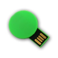 Накопитель под нанесение Present P107 8 GB Green
