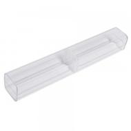 Коробка Present P17 White (вытянутая, для ручек, прозрачный пластик)