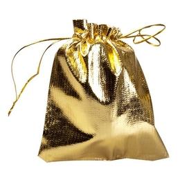 Мешочек из парчи Present MM4 (золотистый, 9х12 см)