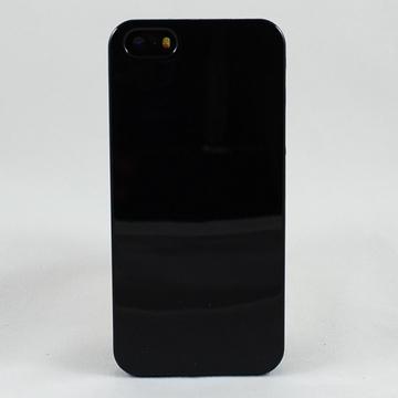 Чехол под нанесение Present Silicone Glossy Black (для iPhone 5/5S)