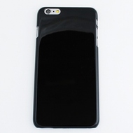 Чехол под нанесение Present Silicone Glossy Black (для iPhone 6 Plus)