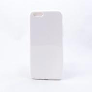 Чехол под нанесение Present Silicone Glossy White (для iPhone 6 Plus)