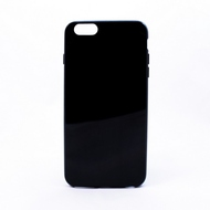 Чехол под нанесение Present Silicone Glossy Black (для iPhone 6/6S)