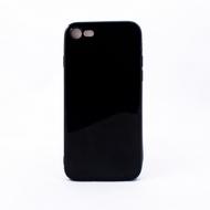 Чехол под нанесение Present Silicone Glossy Black (для iPhone 7)
