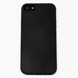 Чехол под нанесение Present Silicone Matte Black (для iPhone 5/5S)