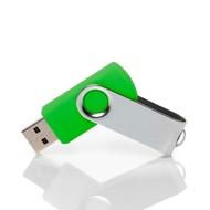 Накопитель под нанесение Present SM 8 GB Green