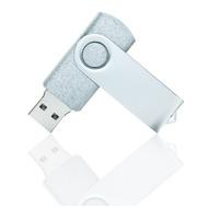 Накопитель под нанесение Present SM 8 GB Silver Glossy