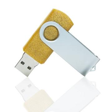 Накопитель под нанесение Present SM 16 gb Gold Glossy