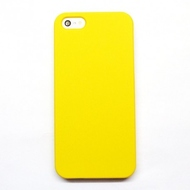 Чехол под нанесение Present Soft touch Yellow (для iPhone 5/5S)