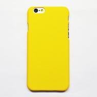 Чехол под нанесение Present Soft touch Yellow (для iPhone 6/6S)