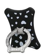Крепление-кольцо Present U-010 Black (35 x 40 x 7,5мм, U-0103, металл, пластик)
