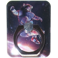 Крепление-кольцо Present U-026 Red Blue (космонавт, металл, пластик)