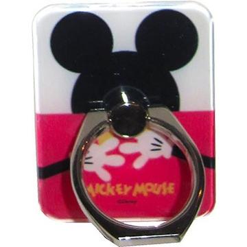 Крепление-кольцо Present U-028 Red Black (Микки Маус, металл, пластик)