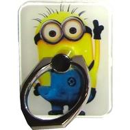 Крепление-кольцо Present U-029 Blue Yellow (миньон, металл, пластик)