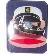 Крепление-кольцо Present U-031 Red Blue (обезьяна в капитанской фуражке, металл, пластик)