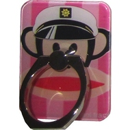 Крепление-кольцо Present U-031 Red Pink (обезьяна в капитанской фуражке, металл, пластик)
