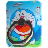 Крепление-кольцо Present U-043 Blue (кот-робот Дораэмон, металл, пластик)