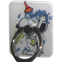 Крепление-кольцо Present U-048 Black White (Снупи под душем, металл, пластик)