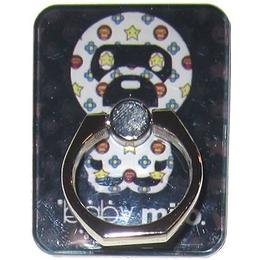 Крепление-кольцо Present U-049 Black White (Baby Milo, металл, пластик)