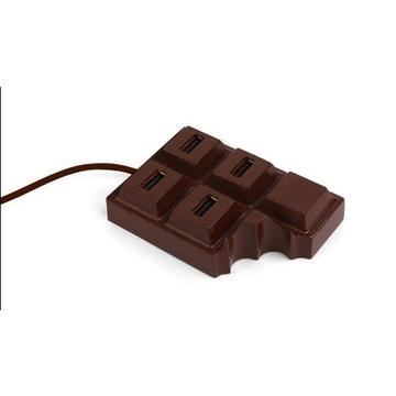 USB-хаб Present Chocolate (плитка шоколада, на 4 гнезда)
