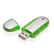 Накопитель под нанесение Present V500 16 gb Green
