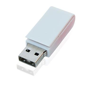 Накопитель под нанесение Present V705 8 GB White