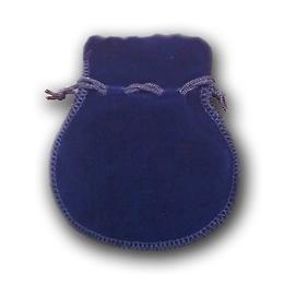 Вельветовый мешочек Present P-04 Blue