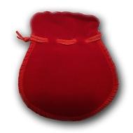 Вельветовый мешочек Present P-04 Red