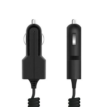 Зарядное устройство Prime Line 2202 Black (автомобильное, 1A, кабель microUSB)