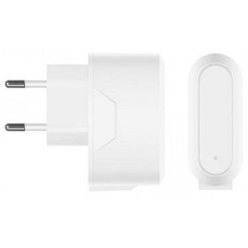 Зарядное устройство Prime Line 2312 White (сетевое, 2xUSB, 2,1A, кабель microUSB)